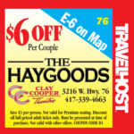 the haygoods branson coupon