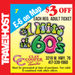 #1 hits of the 60's branson coupon