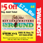 billy yates songwriters coupon branson