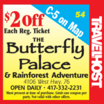 butterfly palace coupon branson