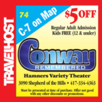 conway remembered branson coupon
