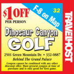 dinosaur canyon coupon branson golf