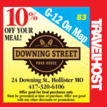 downing street pour house coupon branson