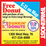 dunkin donuts branson coupon