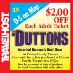 duttons branson coupon