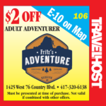fritz's adventure coupon branson