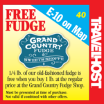 grand country fudge coupon branson