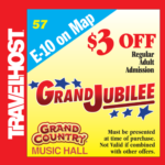 grand jubilee coupon branson
