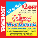 hollywood wax museum coupon branson