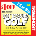 lost treasure golf coupon branson