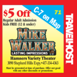 mike walker branson coupon
