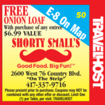 shorty smalls coupon branson