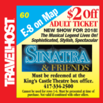 sinatra and friends coupon branson