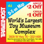 worlds largest toy museum coupon branson