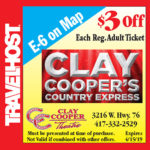 clay cooper branson coupon